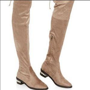 Catherine Malandrino Over-the-knee boots pearl